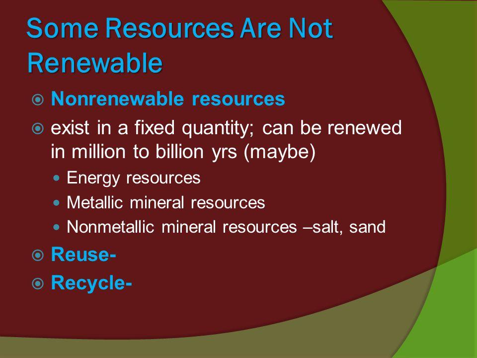 Is Fertile Soil A Renewable Natural Resource