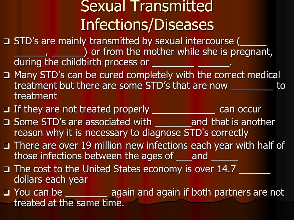Myths and Facts - American Sexual Health Association