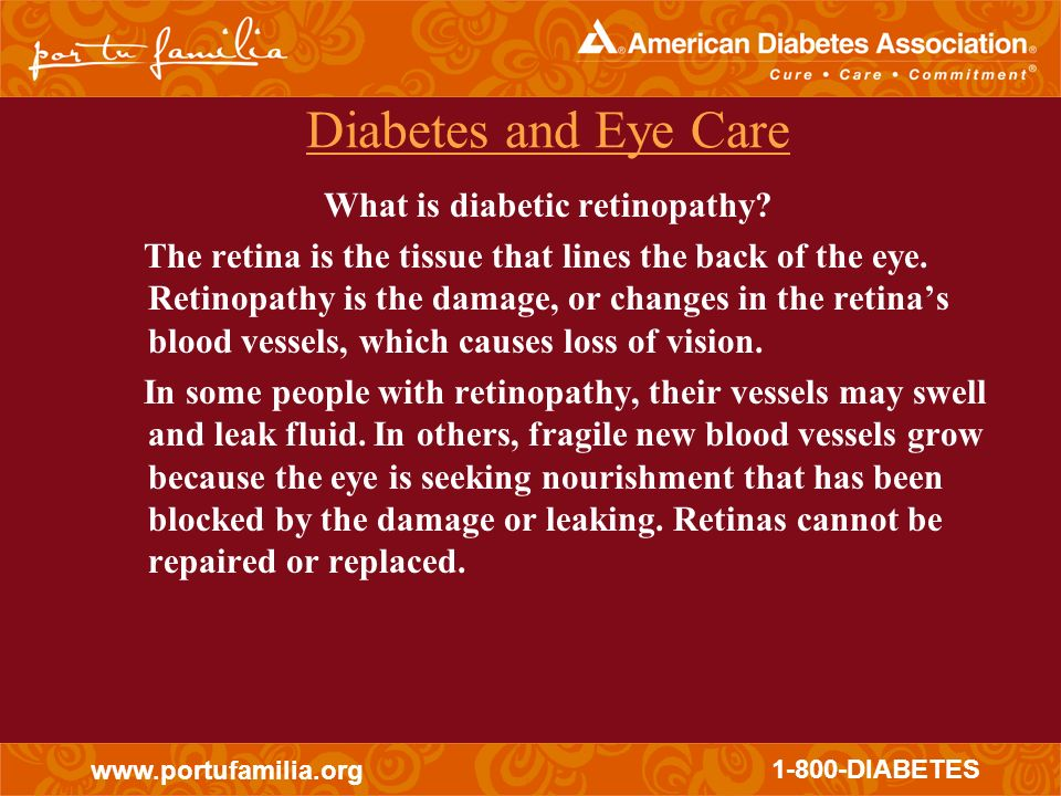 What is diabetic retinopathy
