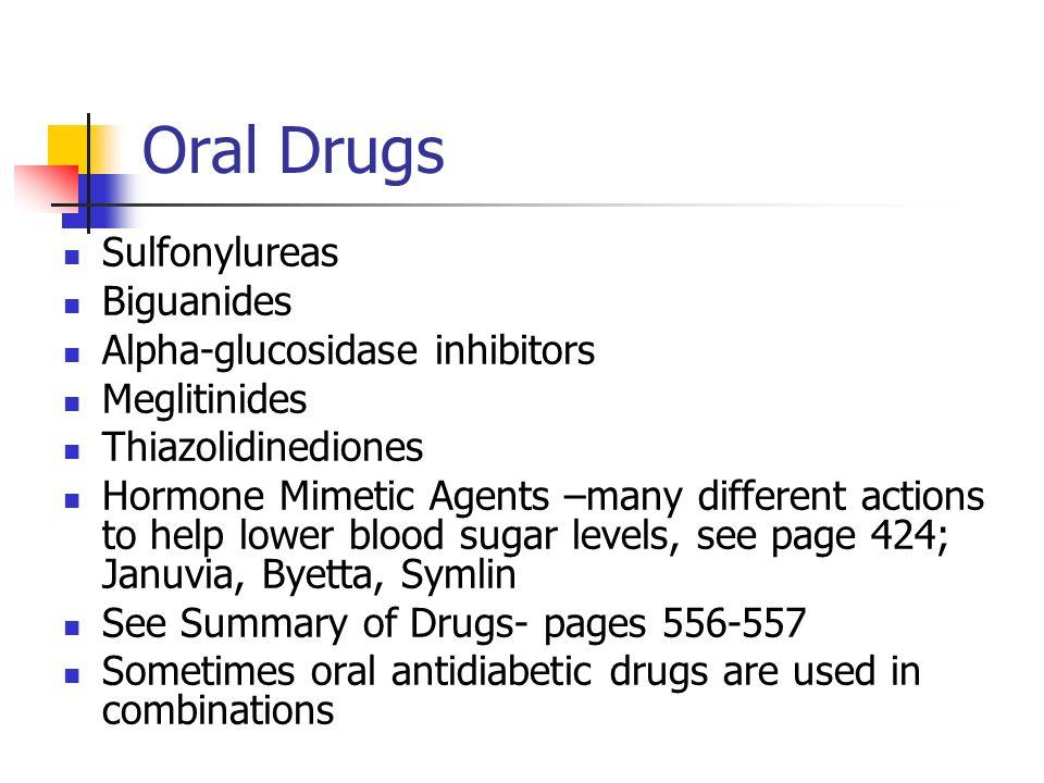 Oral Sulfonylureas 23