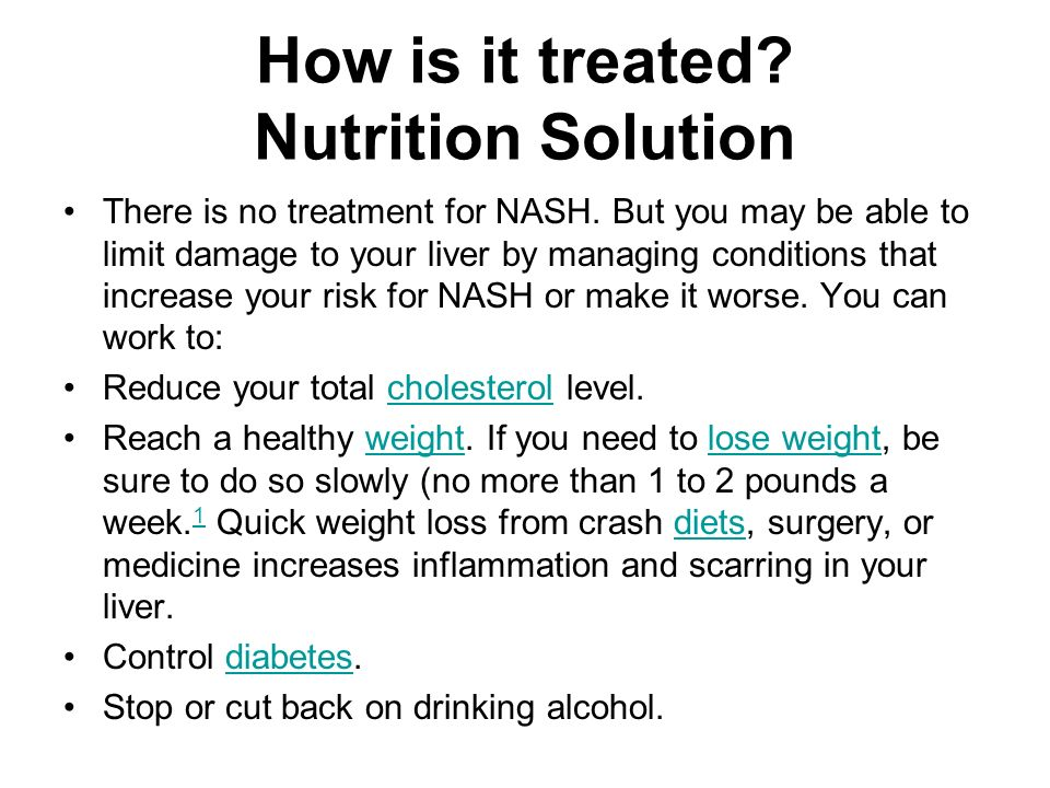 How is it treated Nutrition Solution