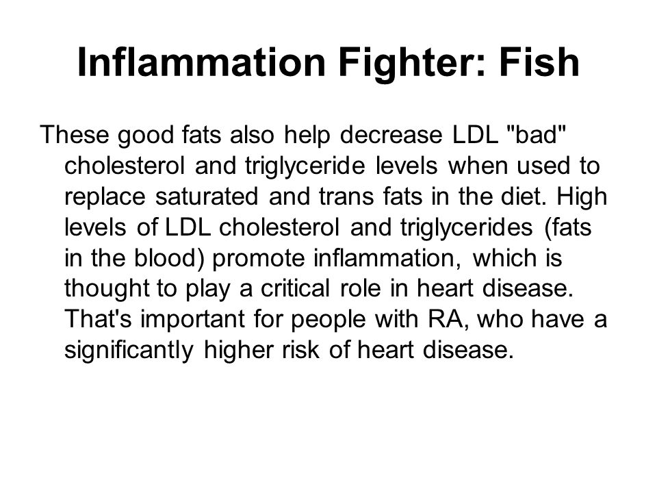 Inflammation Fighter: Fish