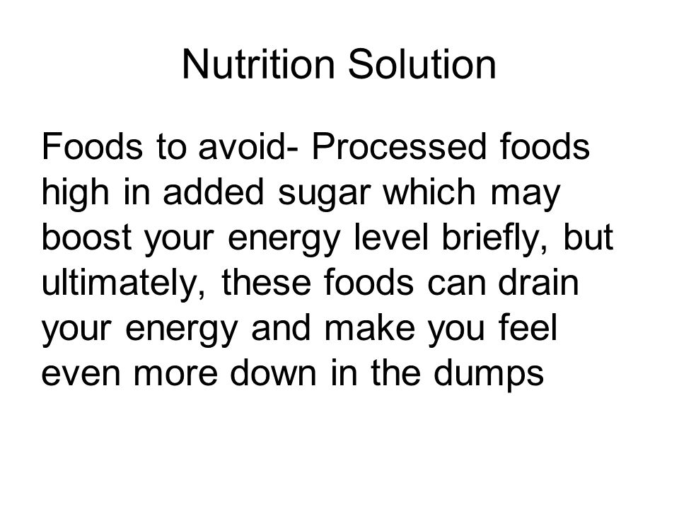 Nutrition Solution