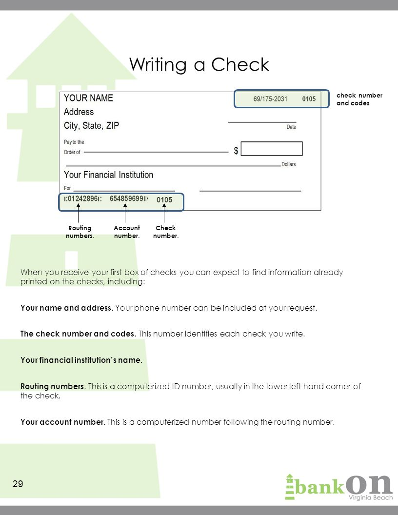 Microsoft Office Check Writing Template