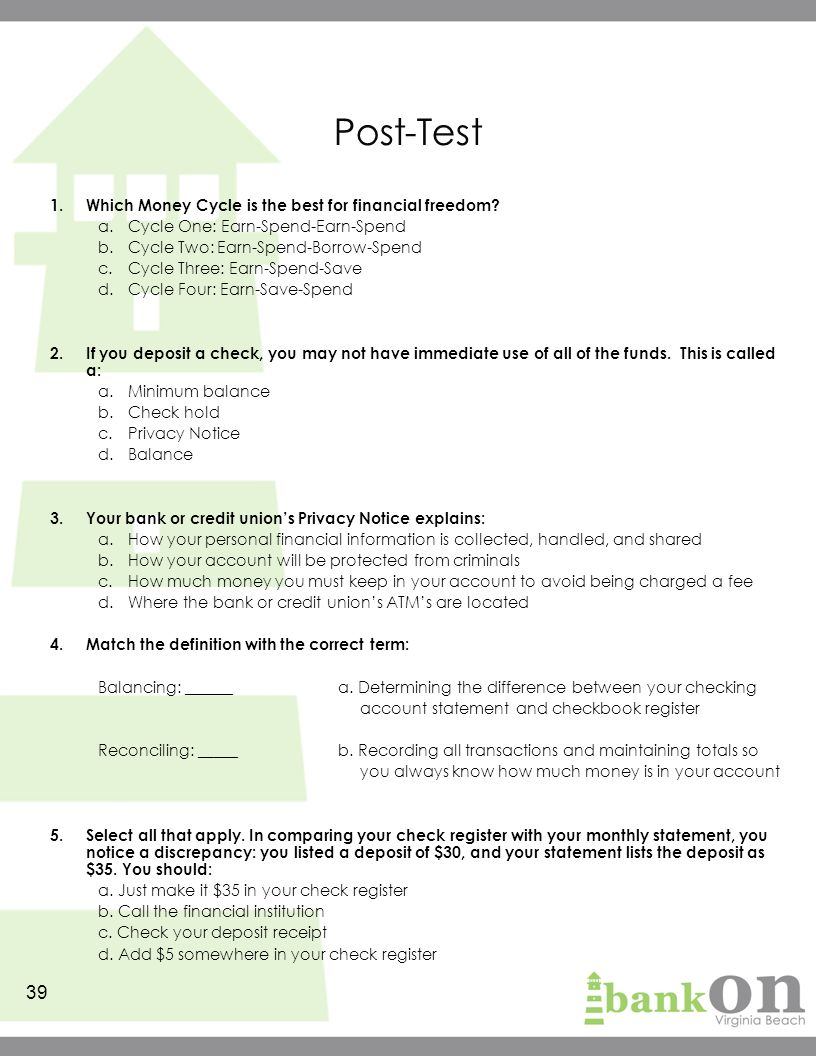 39 Posttest Resumecareer How To Write A Void Check For Direct Deposit