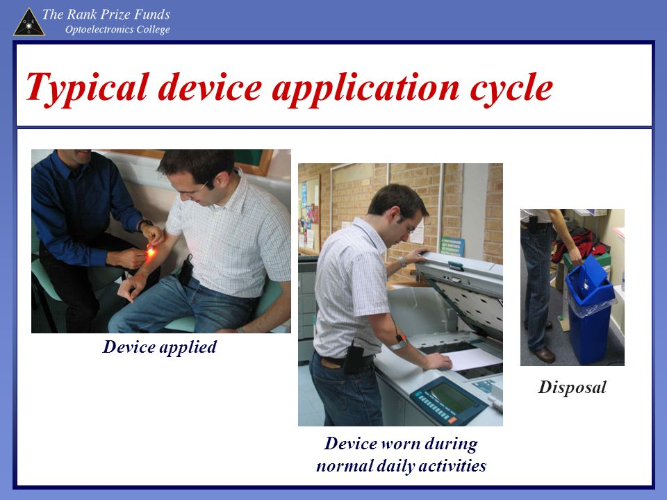 Typical device application cycle