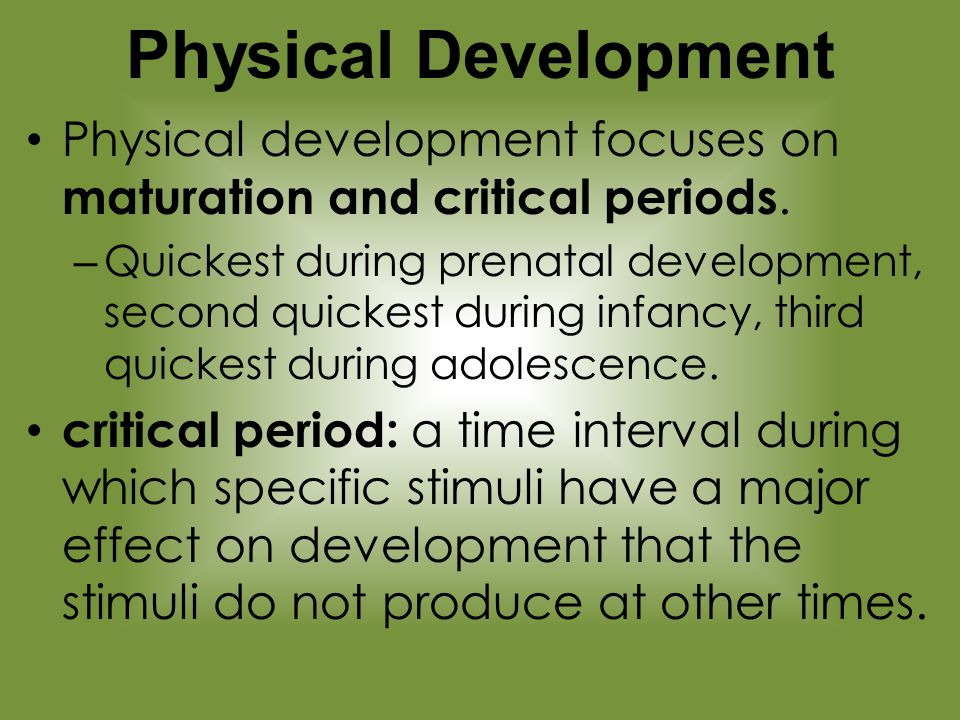 physical development during adolescence pdf