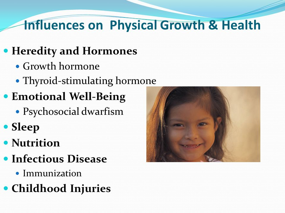 heredity and hormones how they influence