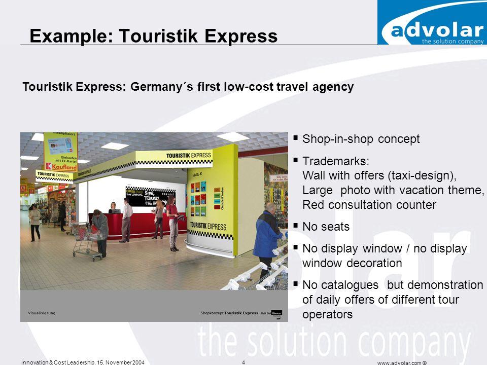 Example: Touristik Express