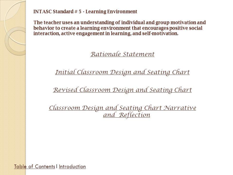 Classroom Design Rationale ~ Jacquelyn c olson exit portfolio ppt video online download