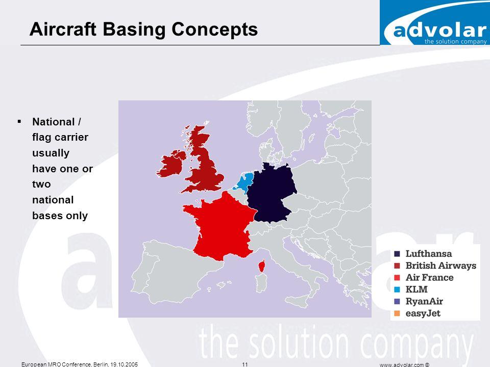 Aircraft Basing Concepts
