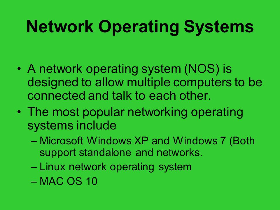 A History of Operating Systems