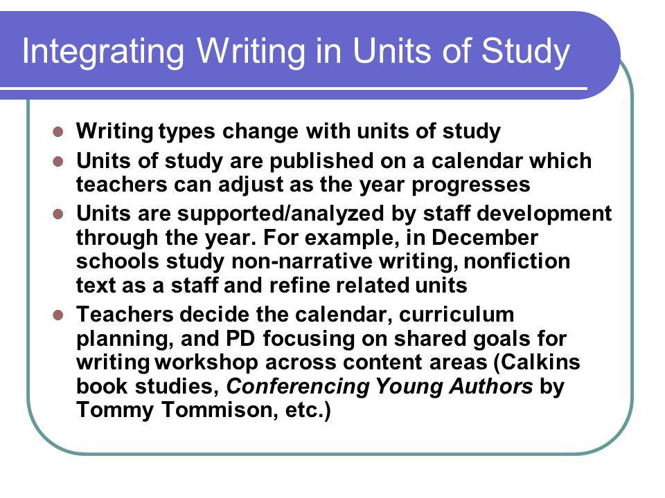 Discipline-focused Writing Across the Curriculum Resources: Discipline Specific