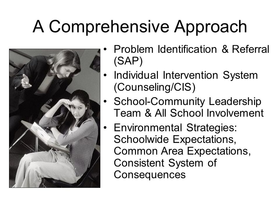 six qualities of a comprehensive school counseling program Professional development needs of urban  result of the school counseling program  largely adhered to comprehensive school counseling models such as.