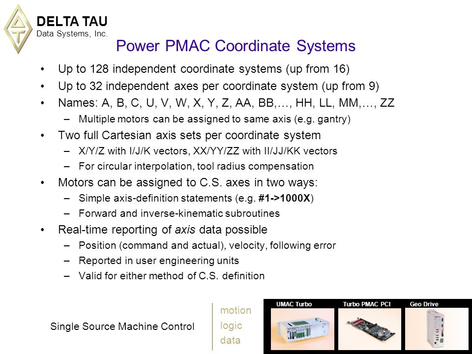 Power Pmac The 7th Generation November Ppt Download
