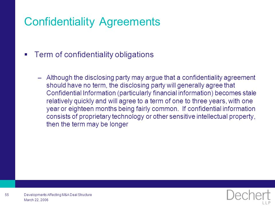 Developments Affecting M&A Deal Structure - Ppt Download