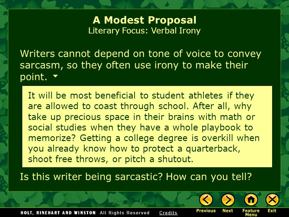how to write a satire like a modest proposal