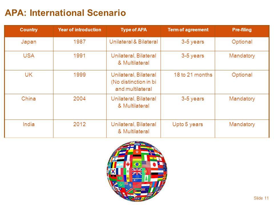 Advance pricing agreement safe harbour thin capitalisation ppt 11 apa international scenario platinumwayz