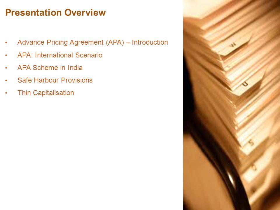 Advance pricing agreement safe harbour thin capitalisation ppt 2 presentation overview platinumwayz