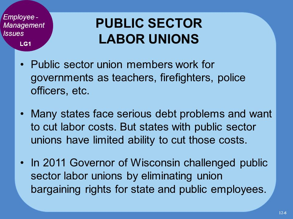 The labor issues in the united states