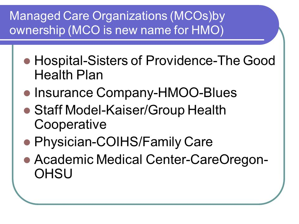 Hospital-Sisters of Providence-The Good Health Plan