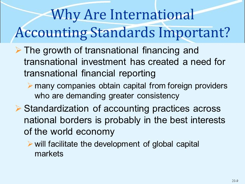 the approaches to transnational financial reporting Perspectives on the global application of ifrs good practices in promoting a consistent approach to international financial reporting standards.