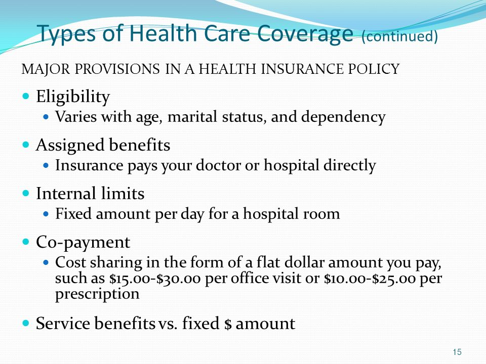 health disability and long term care insurance   ppt