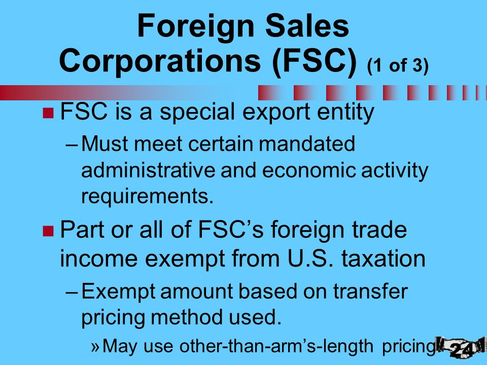 taxation of foreign corporations essay