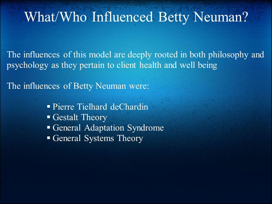 betty neuman nursing theory pdf