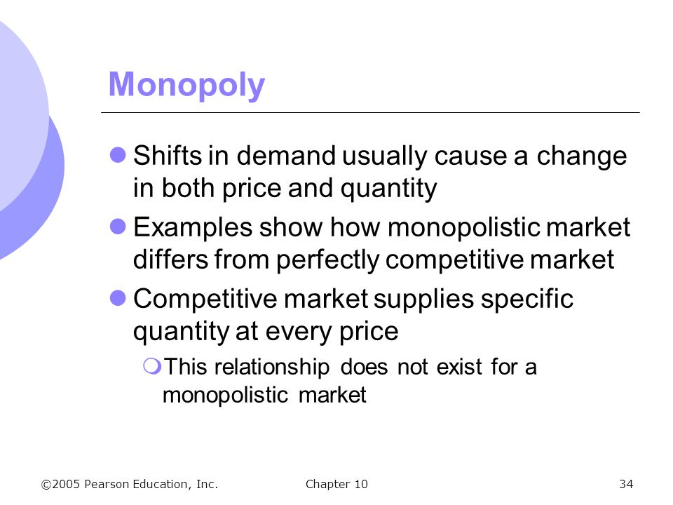 assignment monopoly and perfectly competitive market A perfectly competitive market has three main characteristics there are many buyers and sellers, goods are homogenous and there is free entry and exit into and out of the market.