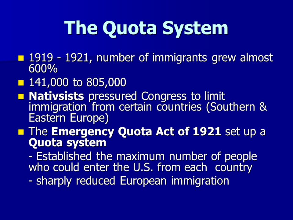 quota system immigration - photo #16