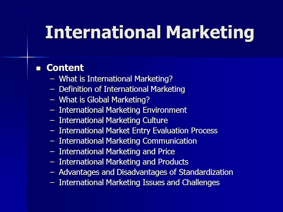 Issues in international marketing communication