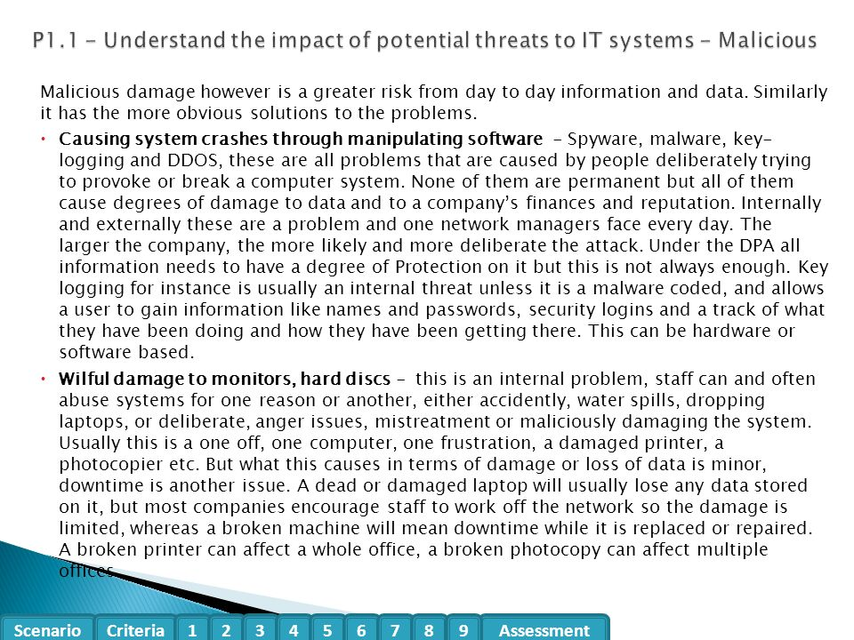 Organisational Systems Security T 601 7312 Level 3 Unit 5