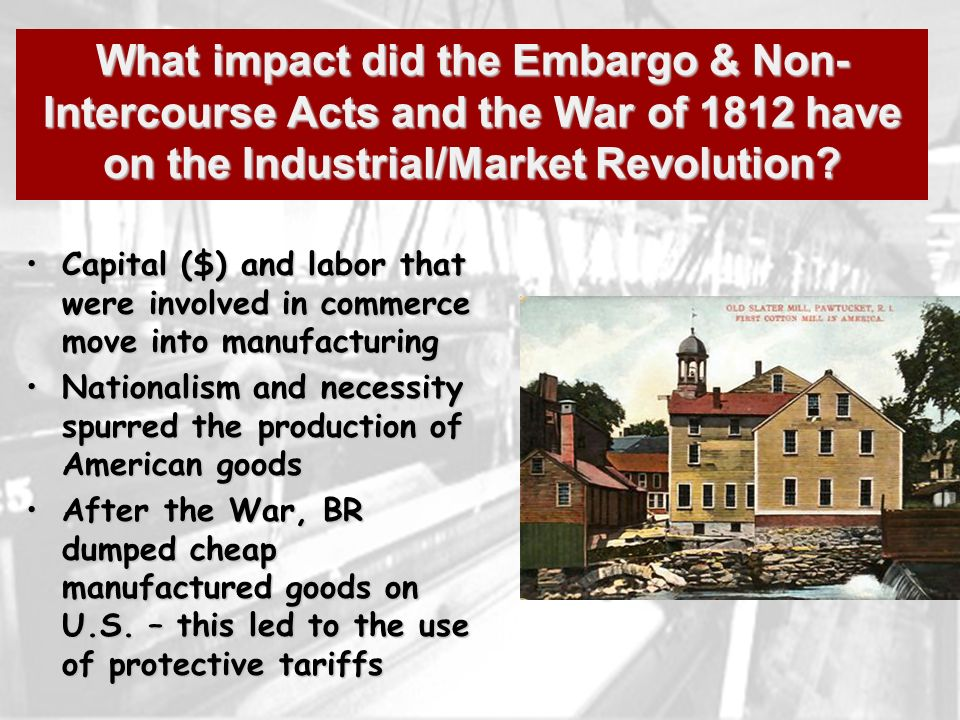 the impact of the american industrial High tariffs were enacted to protect american industry from foreign competition,  major technological advances of the second industrial revolution.