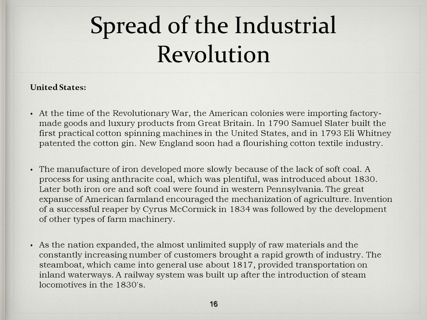 industrial revolution great britain essay The industrial revolution - the industrial revolution and great britain.