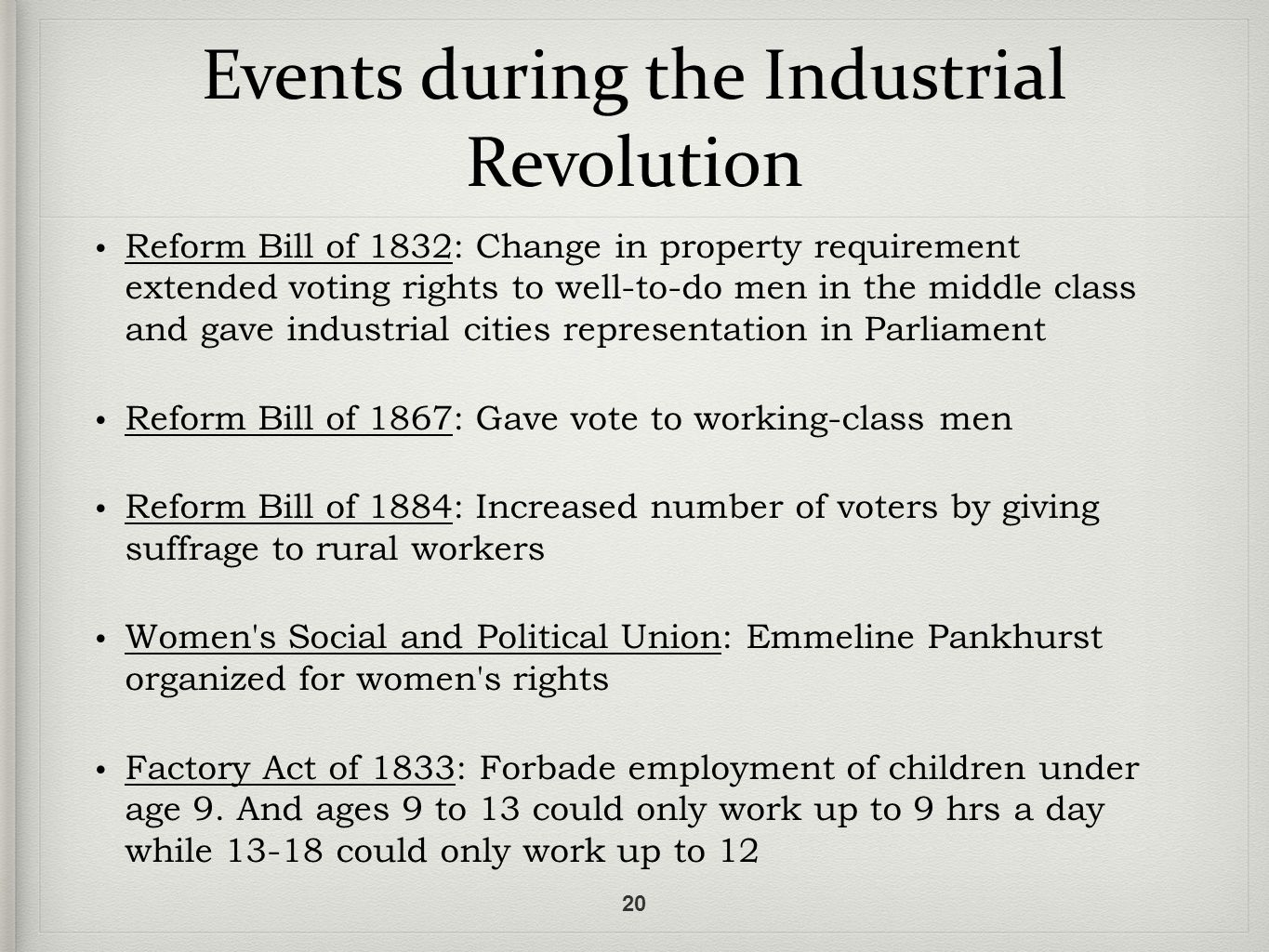 plight of worker during the industrial revolution essay People in history: the second industrial revolution was a period of rapid industrial development, primarily in britain, germany and the this transition included.