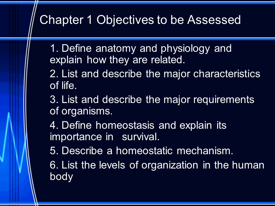Chapter 1 The Human Body An Orientation Ppt Download