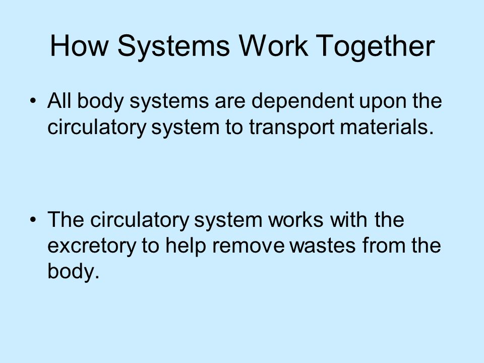 How Systems Work Together