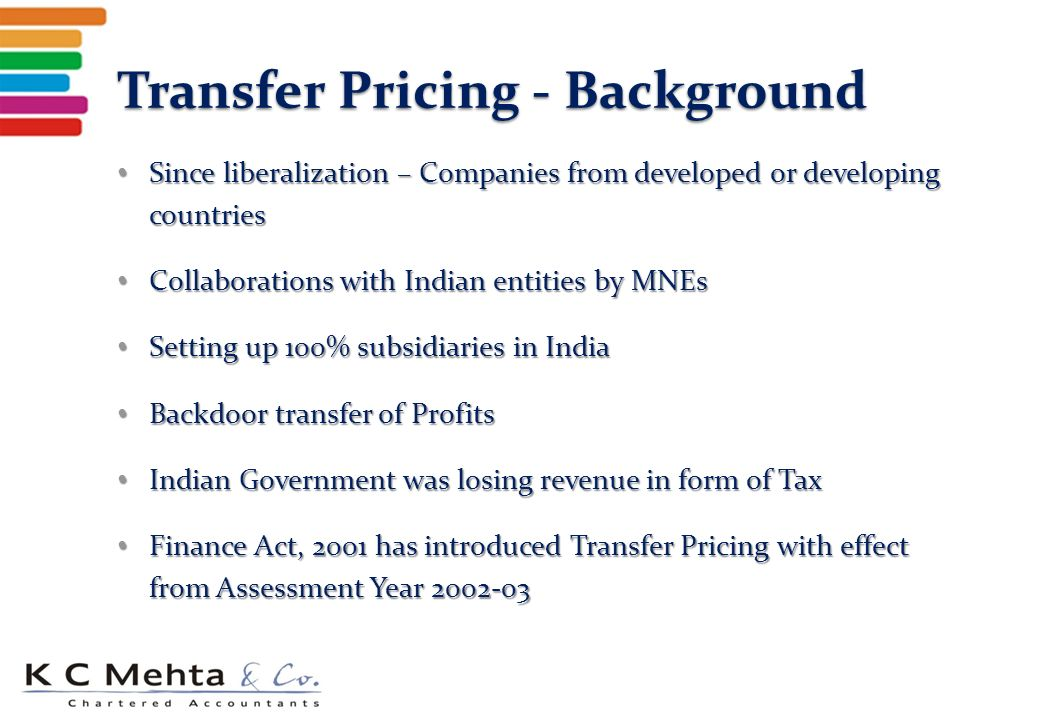 transfer pricing for domestic transactions in Amendment in domestic transfer pricing - budget 2017 amendment in domestic transfer pricing - budget 2017 broadly in budget 2017 there is two changes in domestic transfer pricing omission.