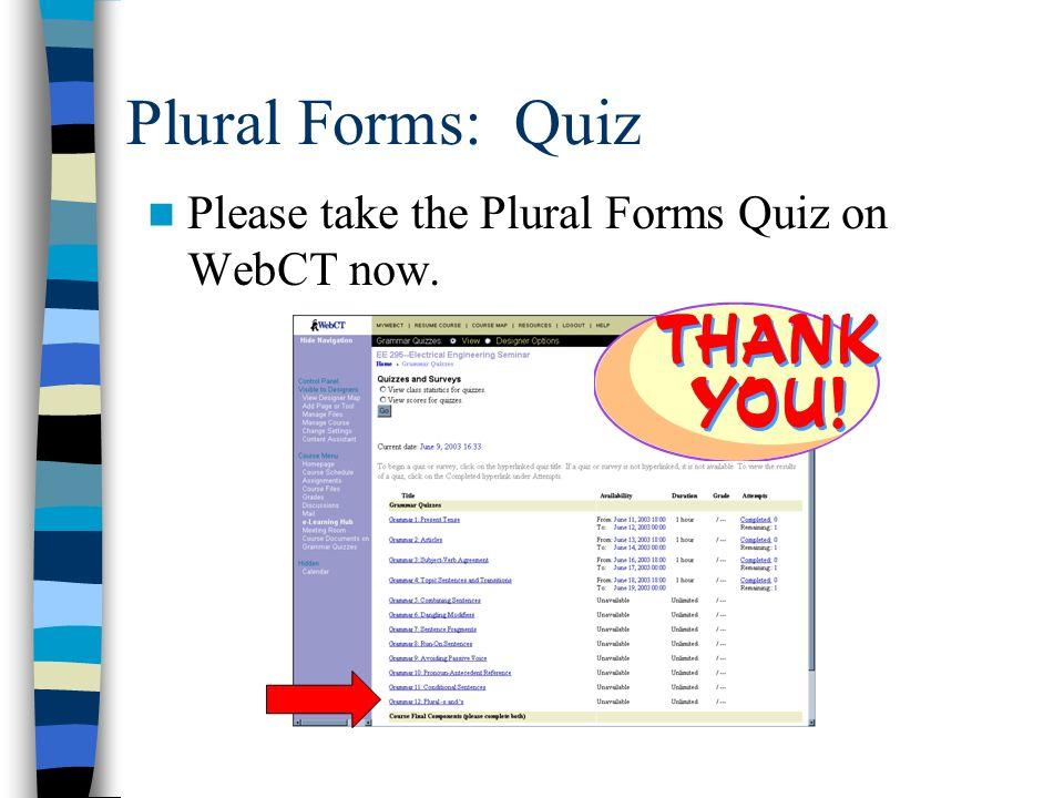Plural Forms. - ppt video online download
