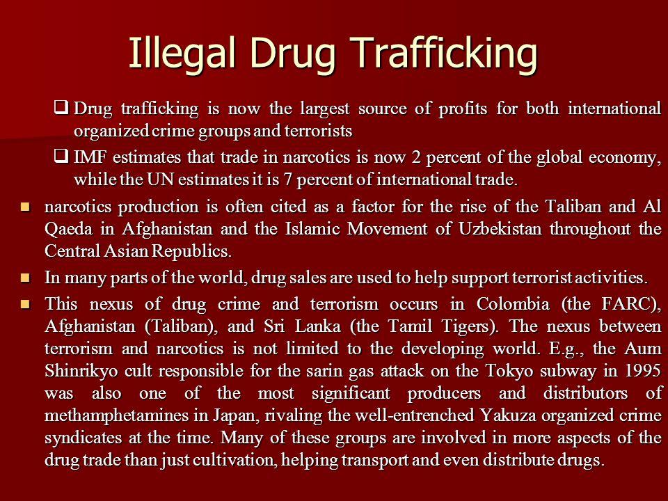 illegal drug trade and big al Hard statistics about drug trafficking in the united states including the most   illegal drugs in the united states create a huge black market.