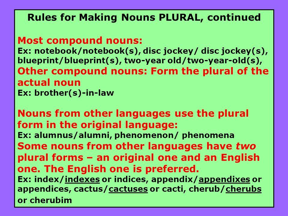 phenomena plural form - nomadconvoy.co