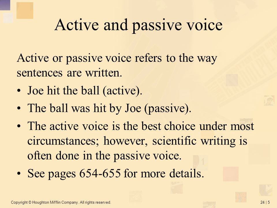 formal voice in essay