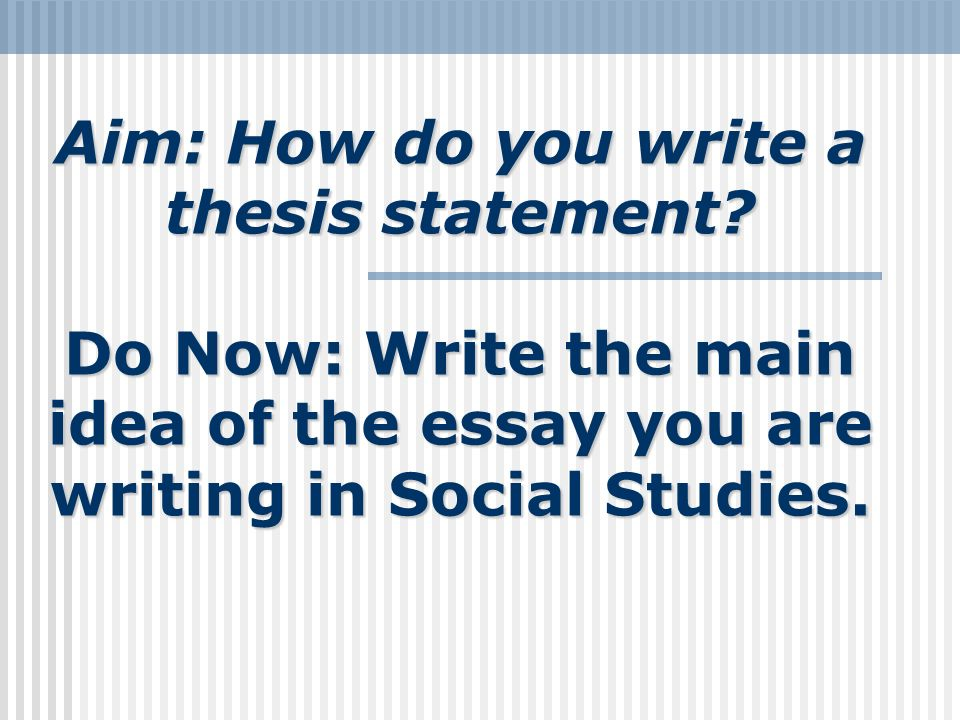 what do you write in a thesis statement I would be also glad to help you with your thesis statement once you ask a corresponding question on the ask me page of my blog) 867 views charlotte henley babb , med secondary education & writing, winthrop university (1989.