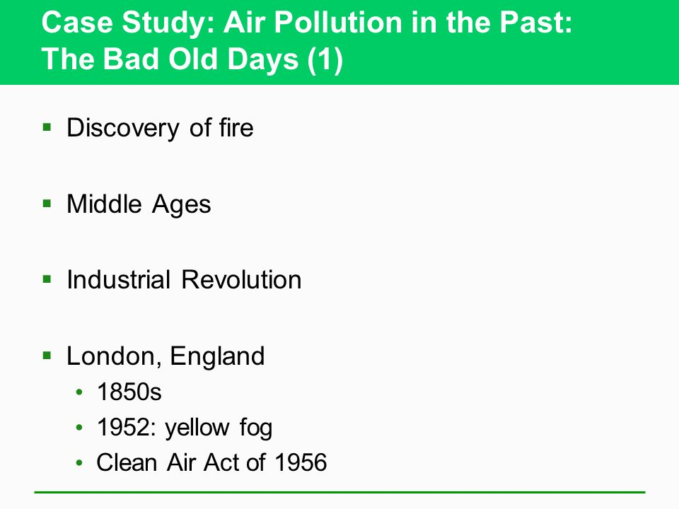 case study of air quality in Case studies action planning support for local authorities and practitioners of local air quality management.