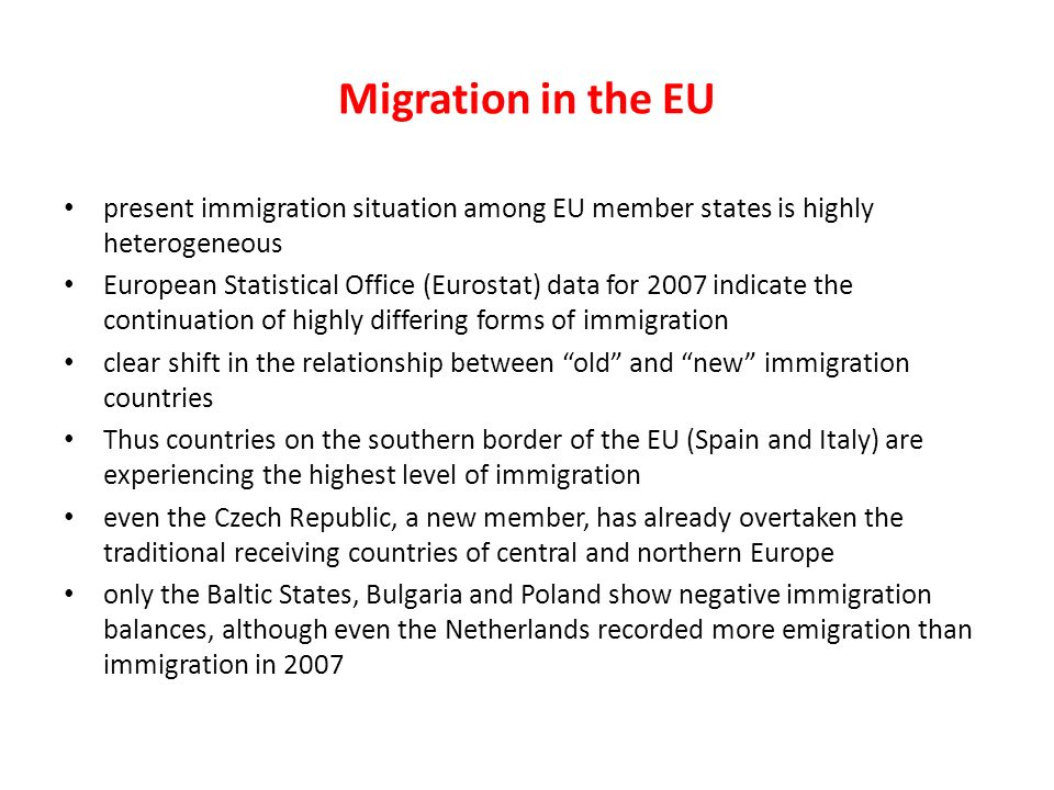 migration in eu member states essay Voice the immigration crisis is tearing europe apart fear of terrorism, muslims, and refugees is driving the parties of the right and left further apart than ever before.