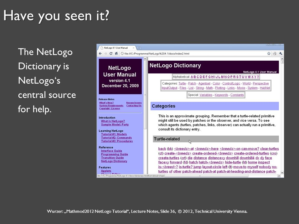 an introduction to netlogo given by gabriel wurzer