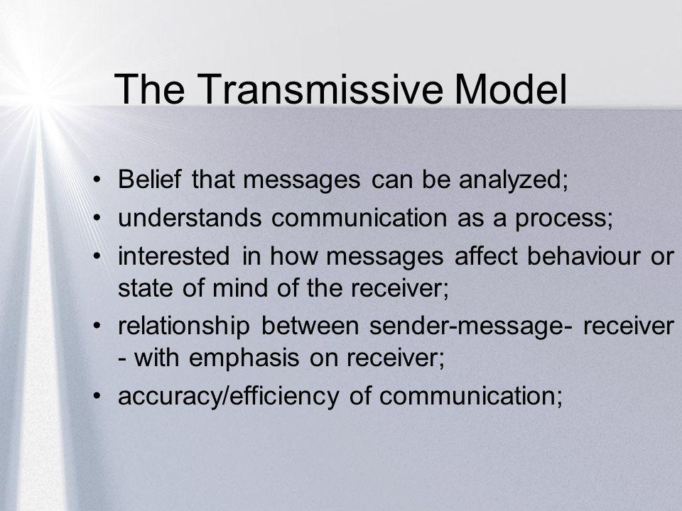 The Transmissive Model