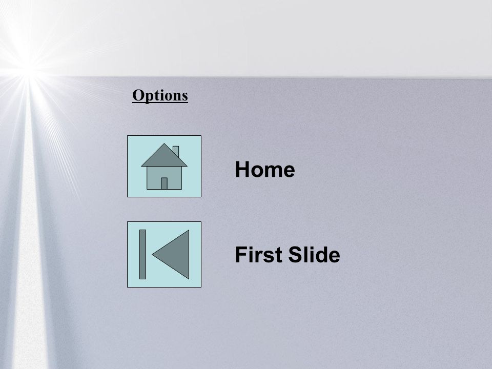 Options Home First Slide