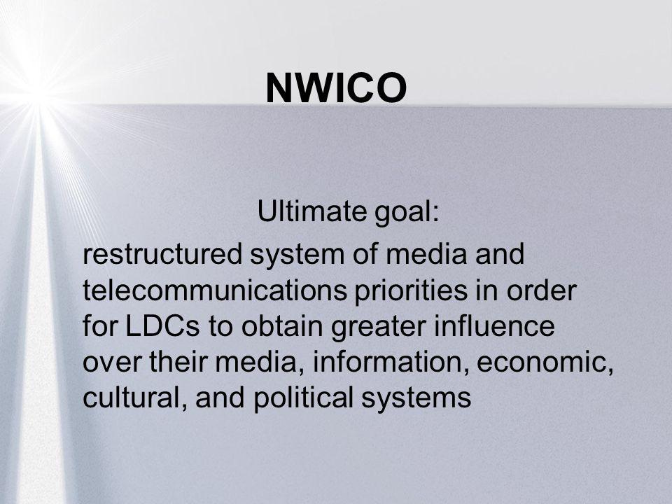 NWICO Ultimate goal: